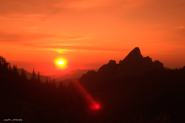 Sunrise Rotwand