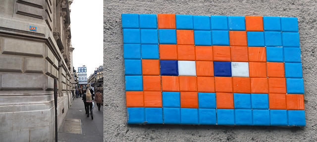 Space invader [Paris 9e]