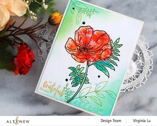 Altenew-Paint-A-Flower-Poppy-Virginia#4