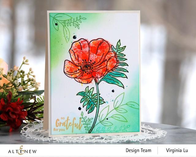Altenew-Paint-A-Flower-Poppy-Virginia#2