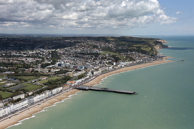 Hastings aerial image