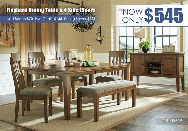 Flaybern Dining Table & 4 Chairs_D595_Updated