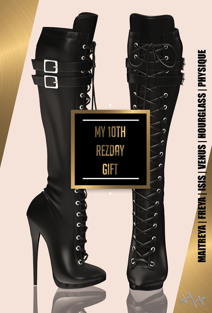 Hilly Haalan – My 10th RezDay Gift Boots