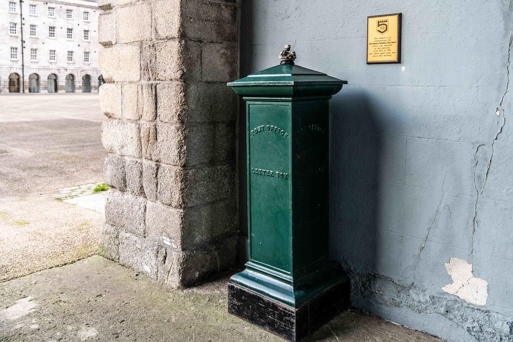 THE ASHWORTH PILLAR BOX [THE OLDEST PILLAR LETTER BOX IN IRELAND]-159129