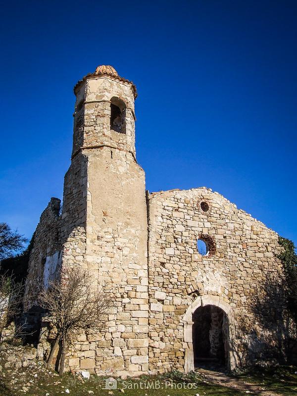 Iglesia de Sant Salvador de la Mussara en diciembre del 2018