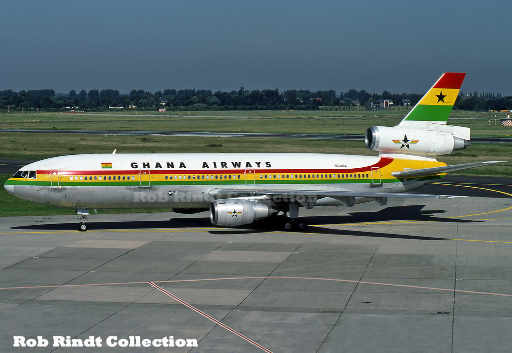 Ghana Airways DC-10-30 9G-ANA