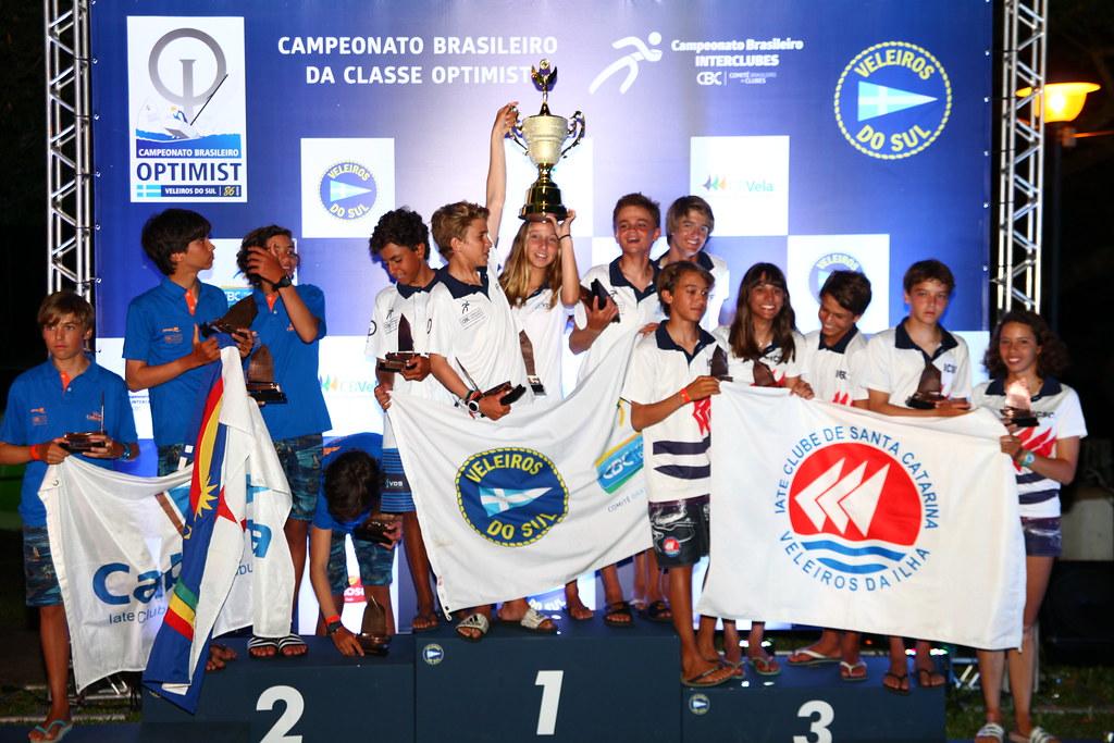 48º Campeonato Brasileiro de Optimist - Premiação