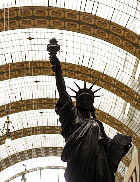 Lady Liberty-Musee d'Orsay