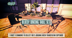 crate's Bluesy Dining Table Set