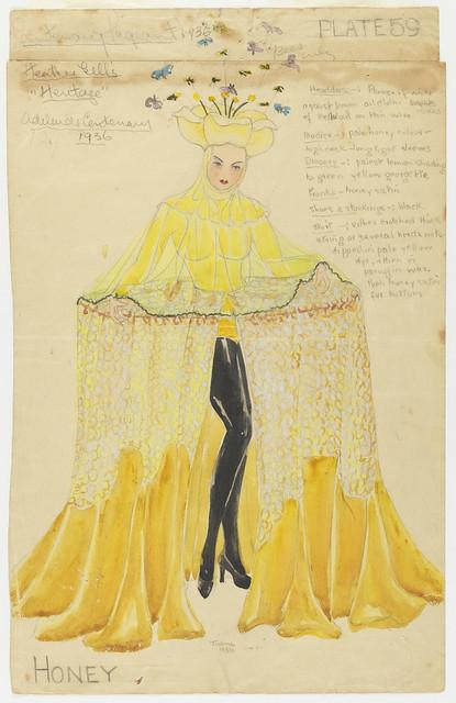 Costume, Adelaide Centenary, 1936, Thelma Afford