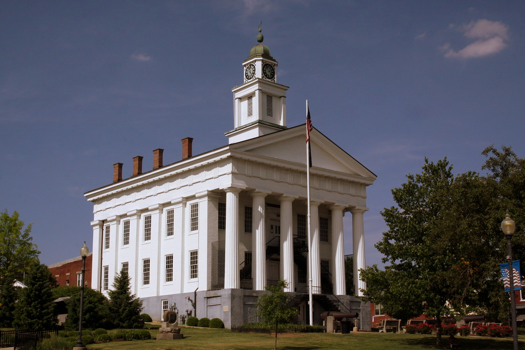 Orange Co. Courthouse Square - Paoli, IN