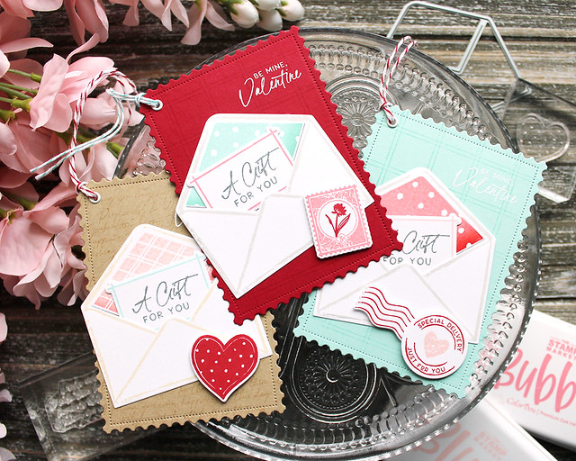 LizzieJones_TheGreetery_January2020_PrettyPostmarks_Signed&SealedWithAKiss_ValentineTags5