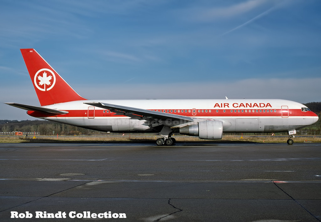 Air Canada B767-233/ER C-GAVF
