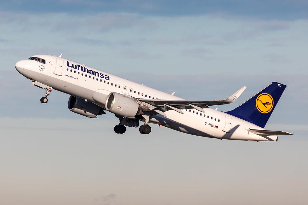D-AINC Lufthansa Airbus A320-271N