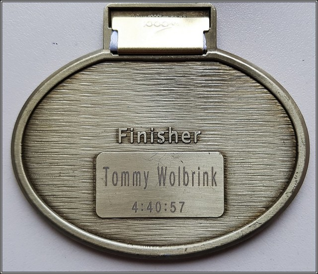 2017-10-29 Medaille Mainova Frankfurt Marathon - 2