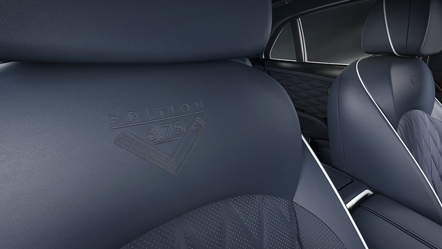 Mulsanne 675 Edition - 13, Embroidery
