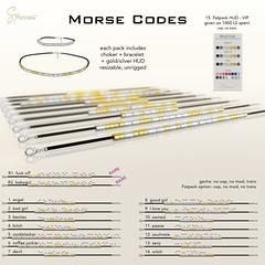 S&P Morse Codes