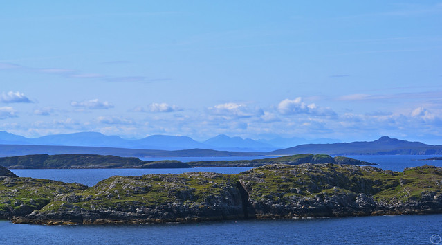 view to Skye from Cathair Dhub  2019