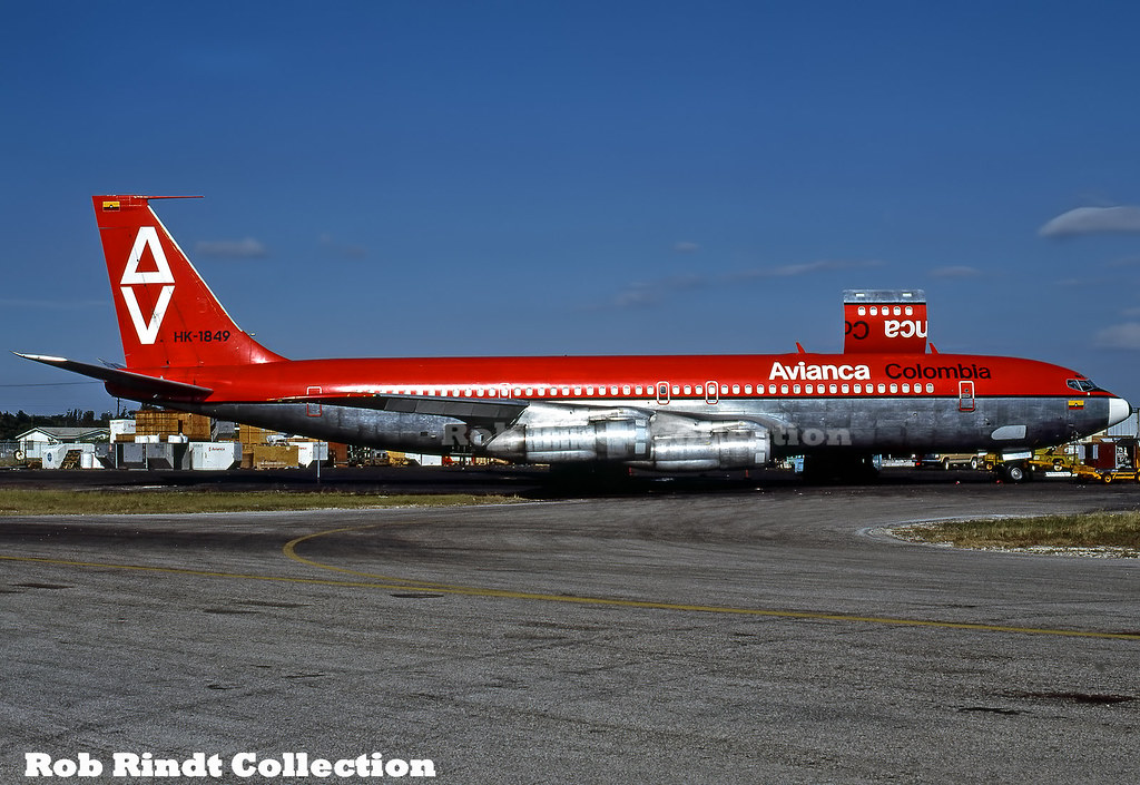 Avianca Colombia B707-321C HK-1849