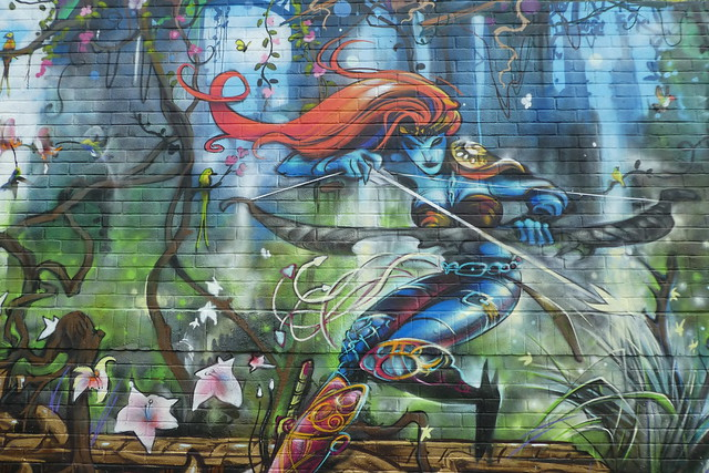 graffiti, Nomadic Community Gardens