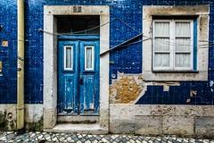 Blue, Lisbon, Portugal