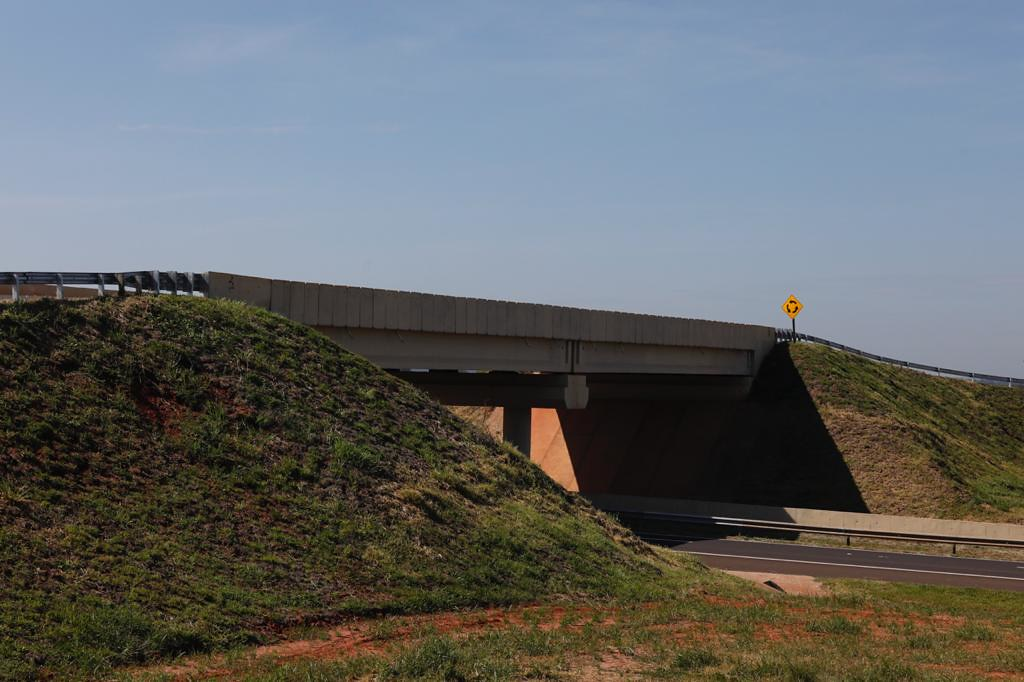 Novo viaduto da Rodovia Marechal Rondon em Coroados
