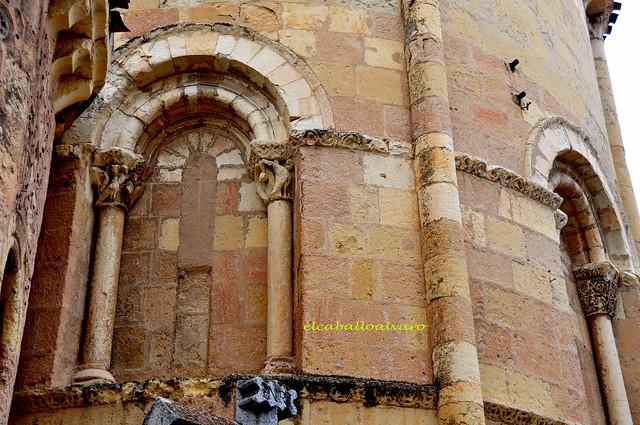 687 – Detalle Ábside – Iglesia San Andrés – Segovia - Spain.