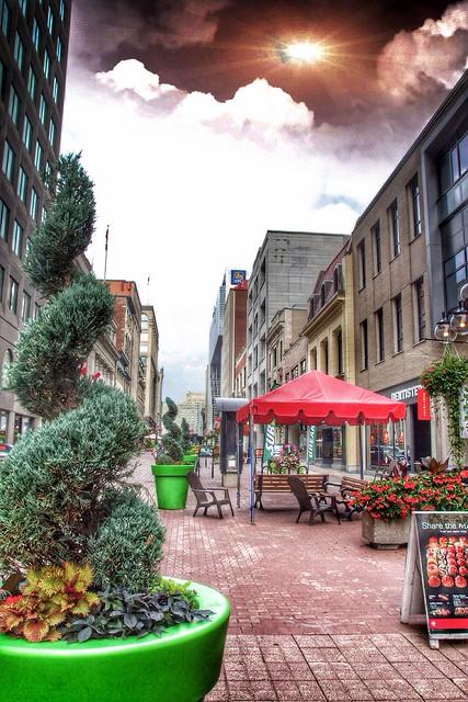 Ottawa Ontario ~ Canada ~ Sparks Street Village
