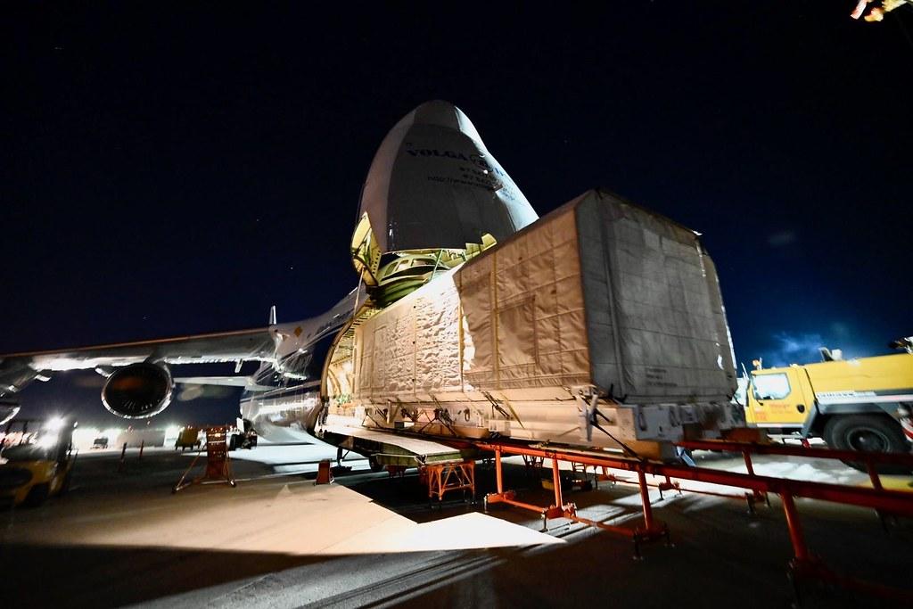 JCSAT-17 Shipping