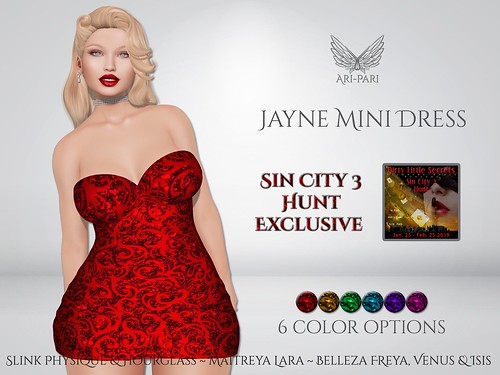 [Ari-Pari] Jayne Mini Dress