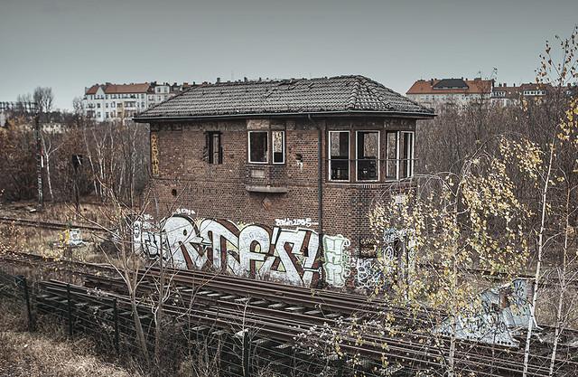 Abandoned Signal Tower, Berlin.