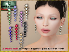 Bliensen - La Dolce Vita - Earrings
