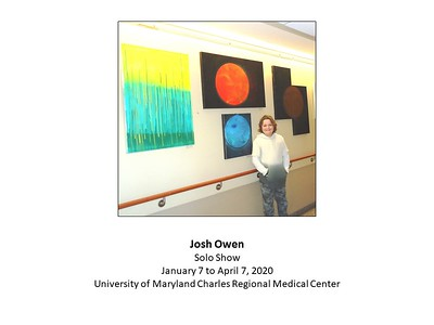 January 8 - April 8, 2020: Josh Owen