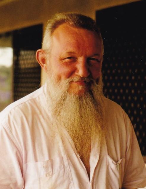 (The late) Paul Lawler on verandah at Reesville, c.2003