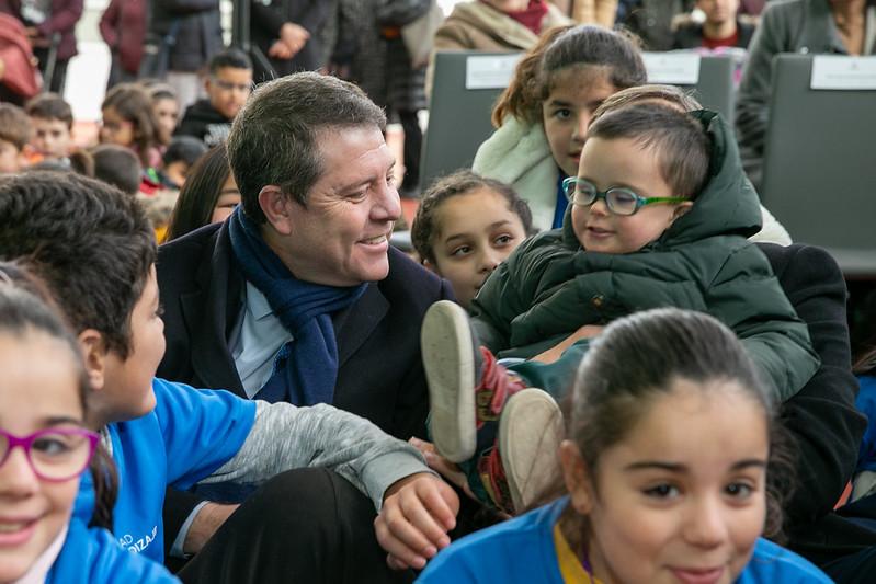 Inauguración del nuevo pabellón polideportivo del Colegio 'Federico Muelas'
