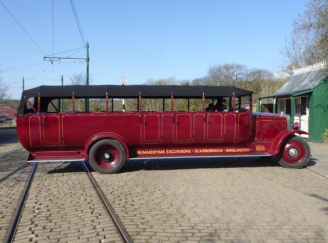 1926 Leyland Lioness Charabanc