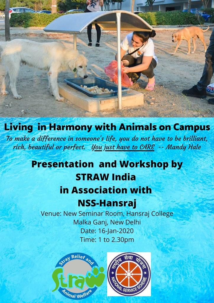 Workshop at Hansraj College