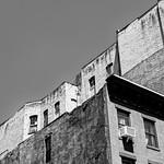 Textured Buildings vs Flat Sky