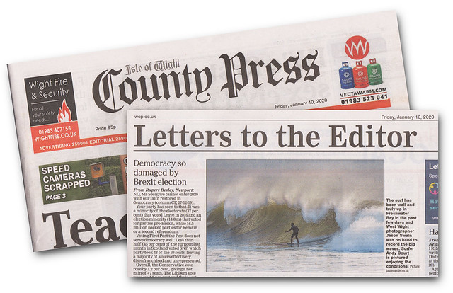 Surfs up - Isle of Wight County Press