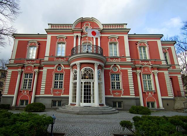 Maikapara house in Riga (Aristida Briana St., 3)