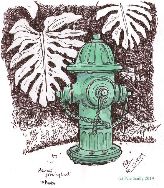 Hawaii hydrant