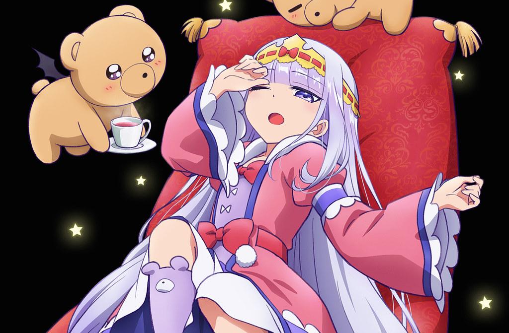 200115(2) - 公主「水瀬いのり」海報發表、睡眠系奇幻喜劇動畫《魔王城でおやすみ》(在魔王城說晚安)將在今年播出!