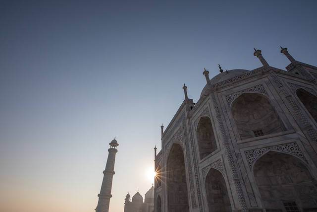 First Light, Taj Mahal