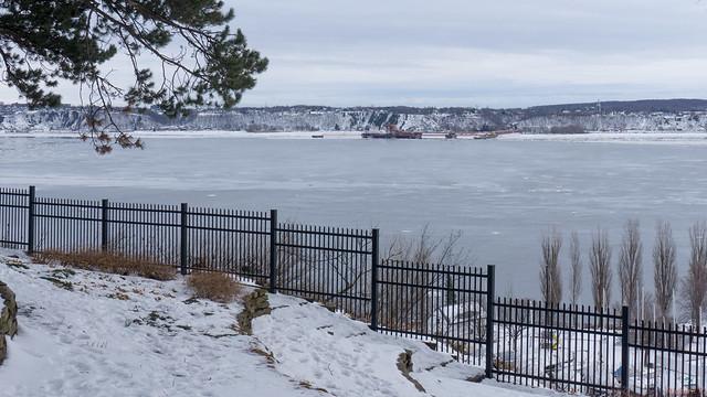 Winter, hiver - Parc du Bois-de-Coulonge, Québec, Canada  - 3400