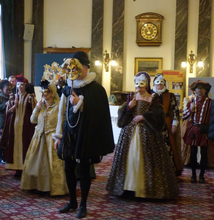 Gloriana Historical Dance in the Banqueting Suite at the Council House