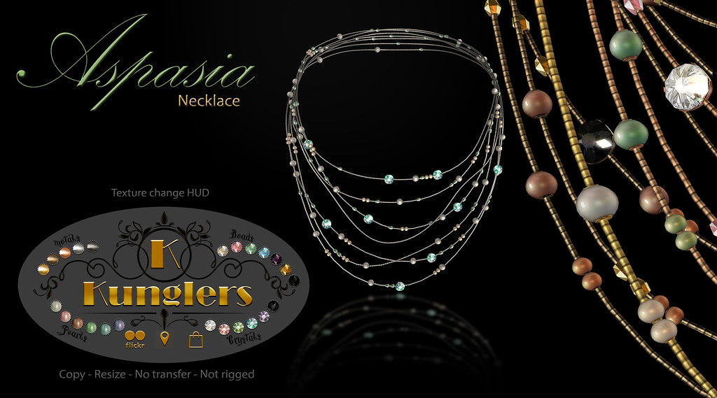 KUNGLERS – Aspasia necklace – Vendor