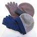 La Boutique Extraordinaire - Riviera Cashmere - Bonnets & Gants 100 % Cachemire - touches digitales - 75 €