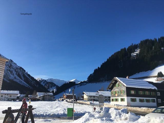 We had Föhn nun the Alps,  9 degrees