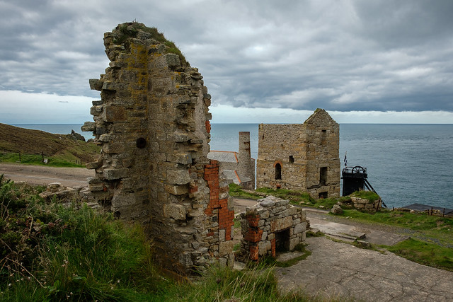 Count House remains, Levant Mine, Pendeen
