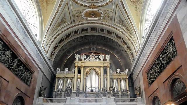 The organ in Esztergom Basilica